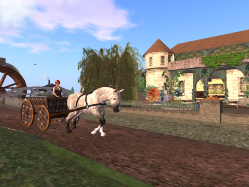Horse-drawn Cart in Lexicolo
